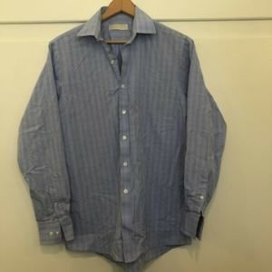 Michael Kors Mens Dress Shirt Sz 15.5 34/35